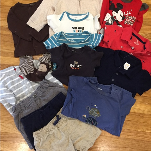 b26773fe94061 Lot of 6-12 month baby boy clothes